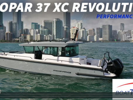 【Axopar 37 XC Revolution】海試數據見真章
