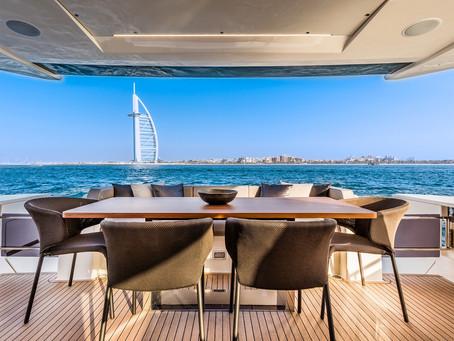 【Ferretti Yachts 780】杜拜帆船飯店