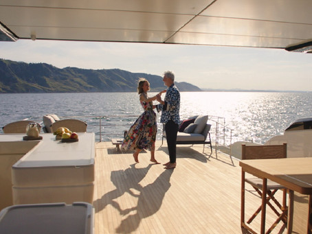 【Ferretti Yachts 1000】爸爸的幸福
