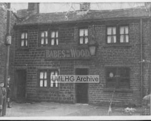 Huddersfield Road, New Road Side, Babes in the Wood public house