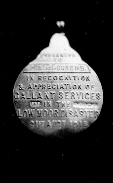 Medal inscription.