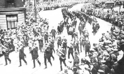 Funeral procession.