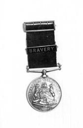 Police medal.
