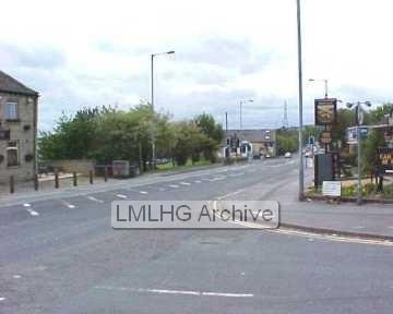 Huddersfield Road - below British Queen looking down towards Wyke