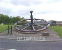Preserved Flywheel, New Works Road