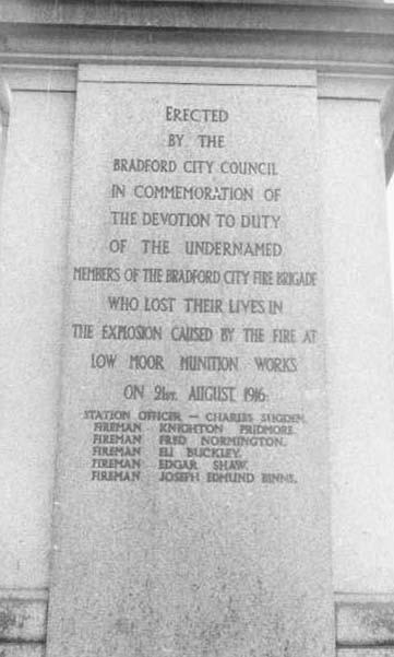Memorial inscription.