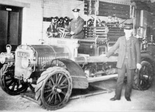 "Fire engine ""HAYHURST""."
