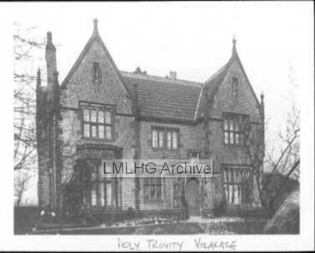 Holy Trinity Vicarage, Junction of Park House Walk and Wesley Avenue