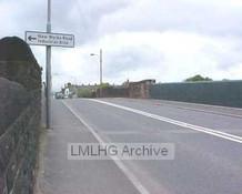 Cleckheaton Road Railway crossing and later bridge