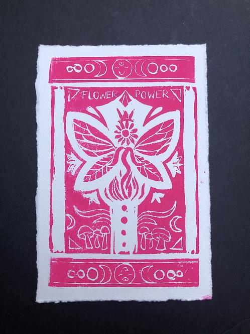 Flower Power Original Print