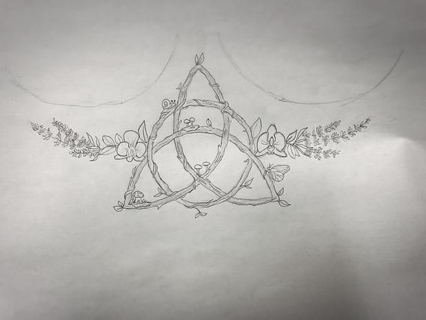 Triquetra Tattoo Design Commission