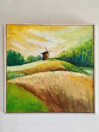 Landschap met molen