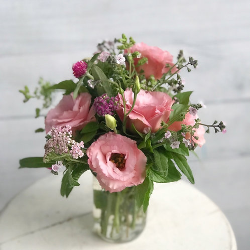 Half Pint Size - Farm Fresh Mixed Flowers
