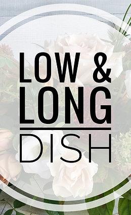 Low & Long Centerpiece