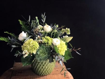 Succulent Fresh Flower Arrangement.JPG