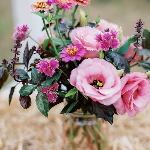 Flowers of the Month Club - Mason Jar