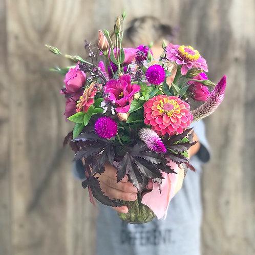 Pint Size - Farm Fresh Mixed Flowers