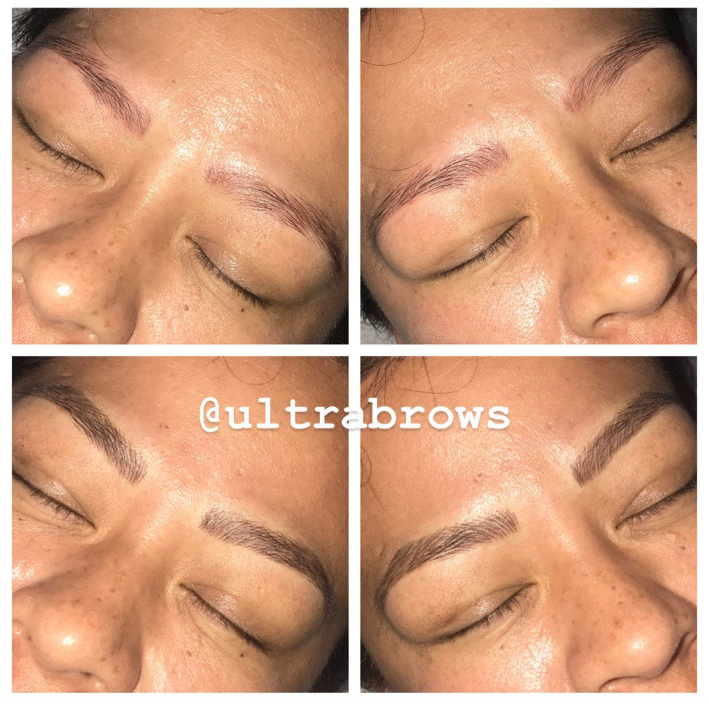 Microblading second session