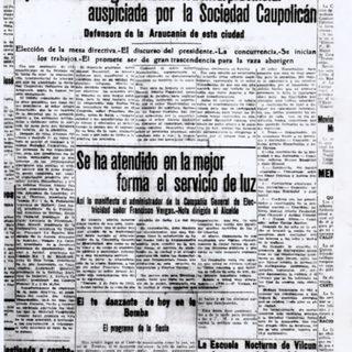 El Diario Austral, 4 de julio de 1926
