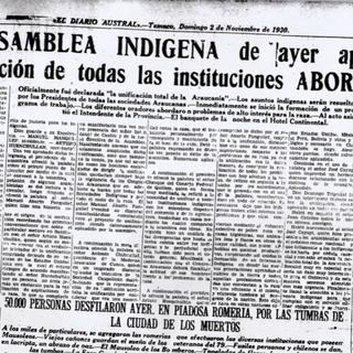 El Diario Austral, 2 de noviembre de 1930