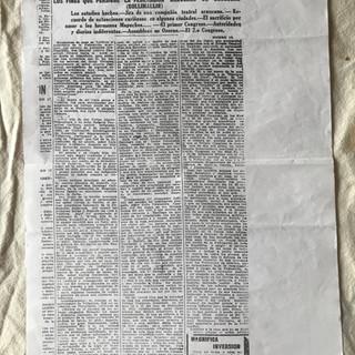 El Mercurio, 20 de enero de 1923