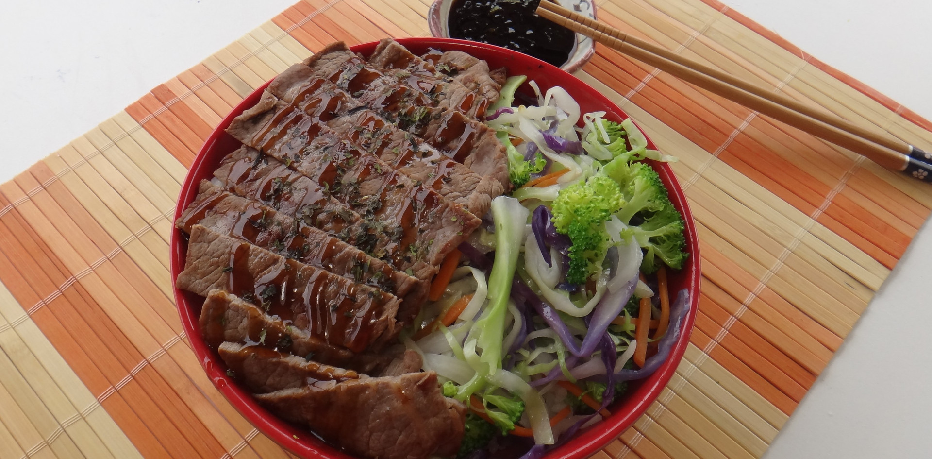 Teriyaki Steak Bowl