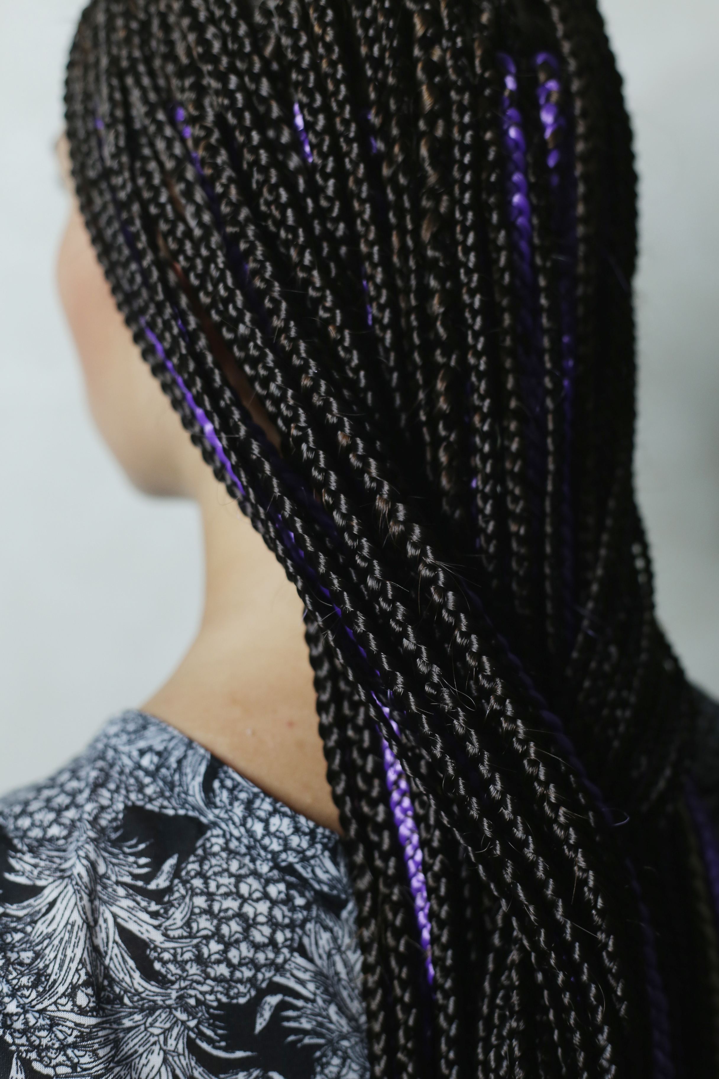 Many fine African braids are beautifully