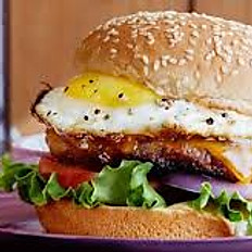 Lamb Burger\Especial with Egg