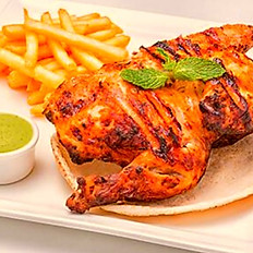 Char-Grilled Half Chicken