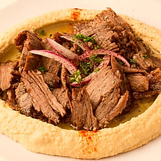 Hummus w/ Steak Shawerma
