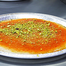 Kunafa- Rough/plate( Stuffed Cheese or Qeshta