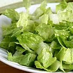 Lettuce Salad with Garlic and Lemon