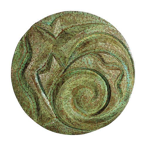 Mandala de Cobre Patinado - 2002