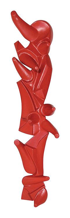 Relevo Cubista Vermelho - 2003