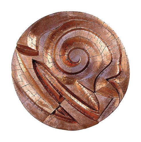 Mandala de Cobre Espiralado - 2002