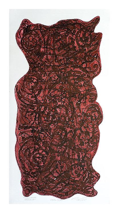 Fragmento Vermelho - 1966