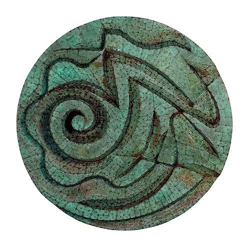 Mandala de Cobre Espiralado - 2006