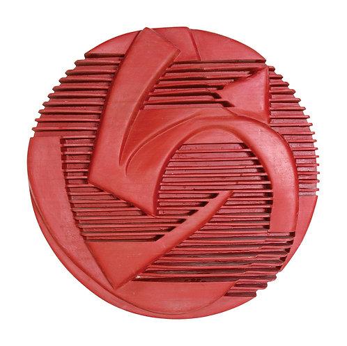 Mandala Carenada Vermelho - 2002