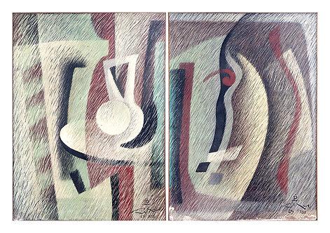 Sobre a Mesa e Máscara - 1988