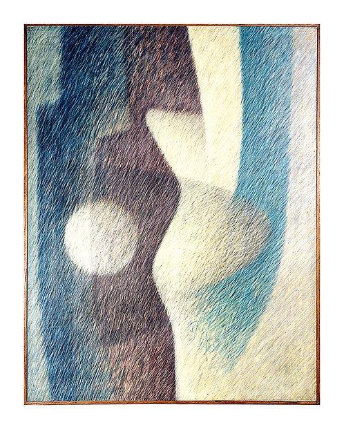 Duas Figuras com Bola Branca - 1988