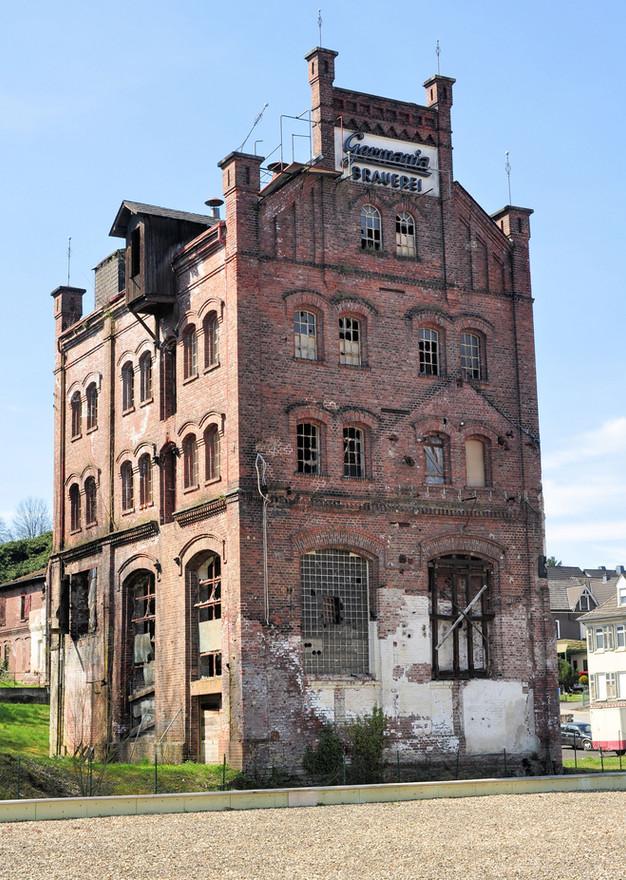 Germania Brauerei damals