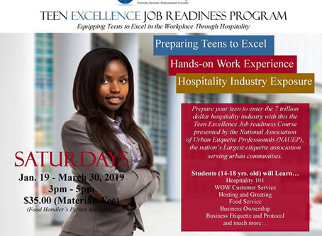 NAUEP PARTNERS WITH DESOTO PUBLIC LIBRARY TO INTRODUCE  JOB READINESS TO TEENS
