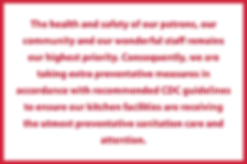 felixs homepage covid statement.png