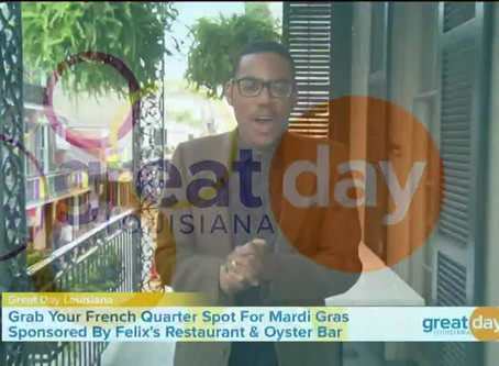 Great Day Louisiana: Felix's Segment