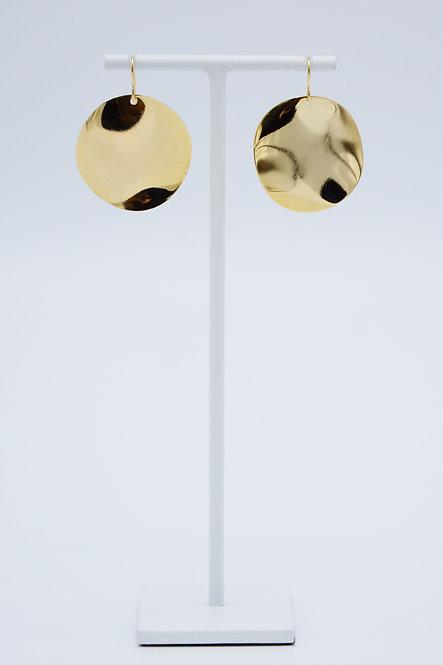 Boucles d'oreilles Sequin - Larges Cercles