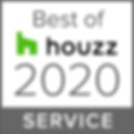 BEST OF HOUZZ AWARD 2020 Badge
