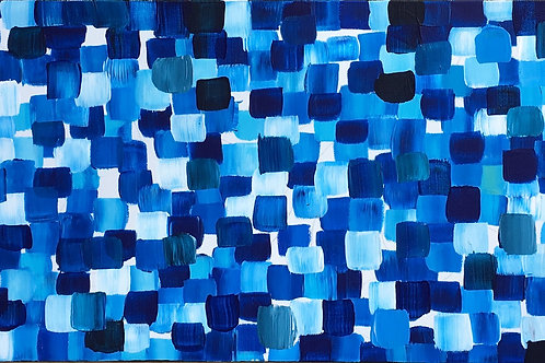 """Blue"" - SOLD"