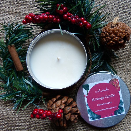Scented Tin Massage Candles 12 Scents