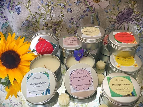 Scented Massage Candles Gift Set (8 Candles)