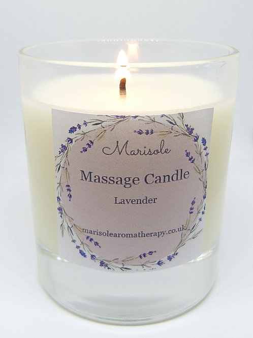 Scented Glass Massage Candles 13 Scents